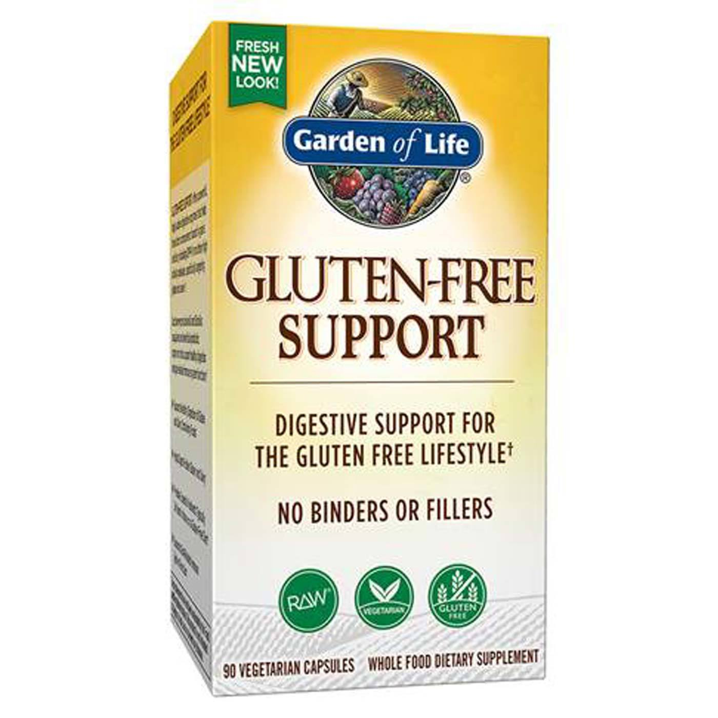 Garden Of Life Gluten Free Support 90 Vcapsules
