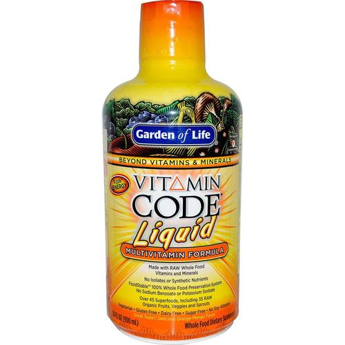 Vitamin Code Liquid Multivitamin