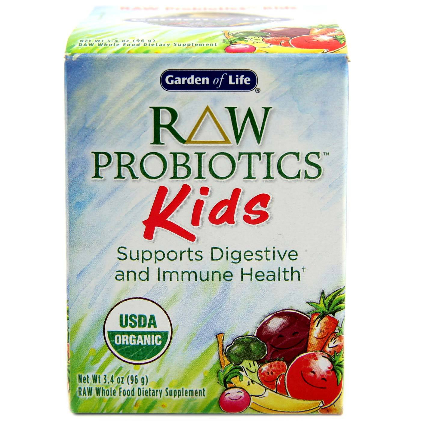 garden of life raw probiotics kids 3 4 oz evitamins australia