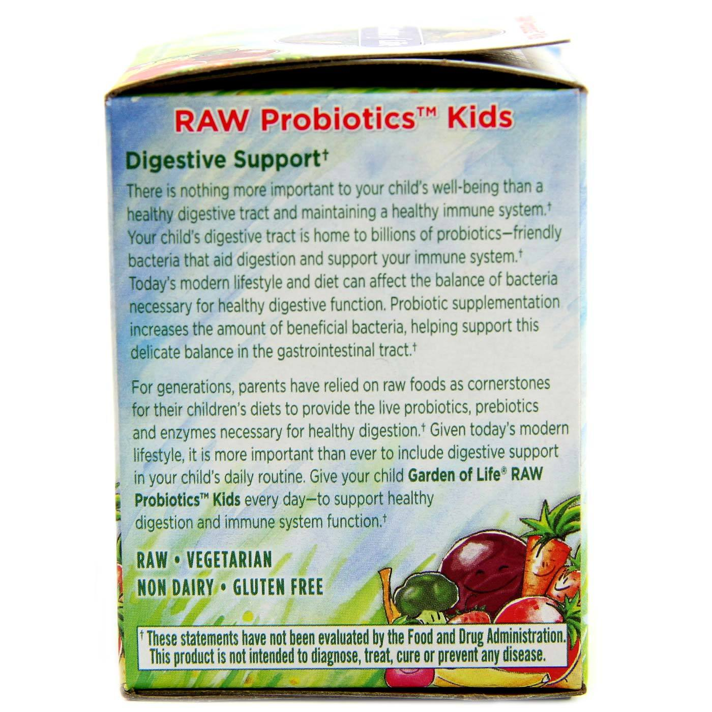 Garden of Life RAW Probiotics Kids 34 oz eVitaminscom