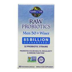 Garden of Life RAW Probiotics Men 50 and Wiser