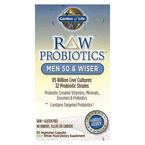 RAW Probiotics Men 50 and Wiser