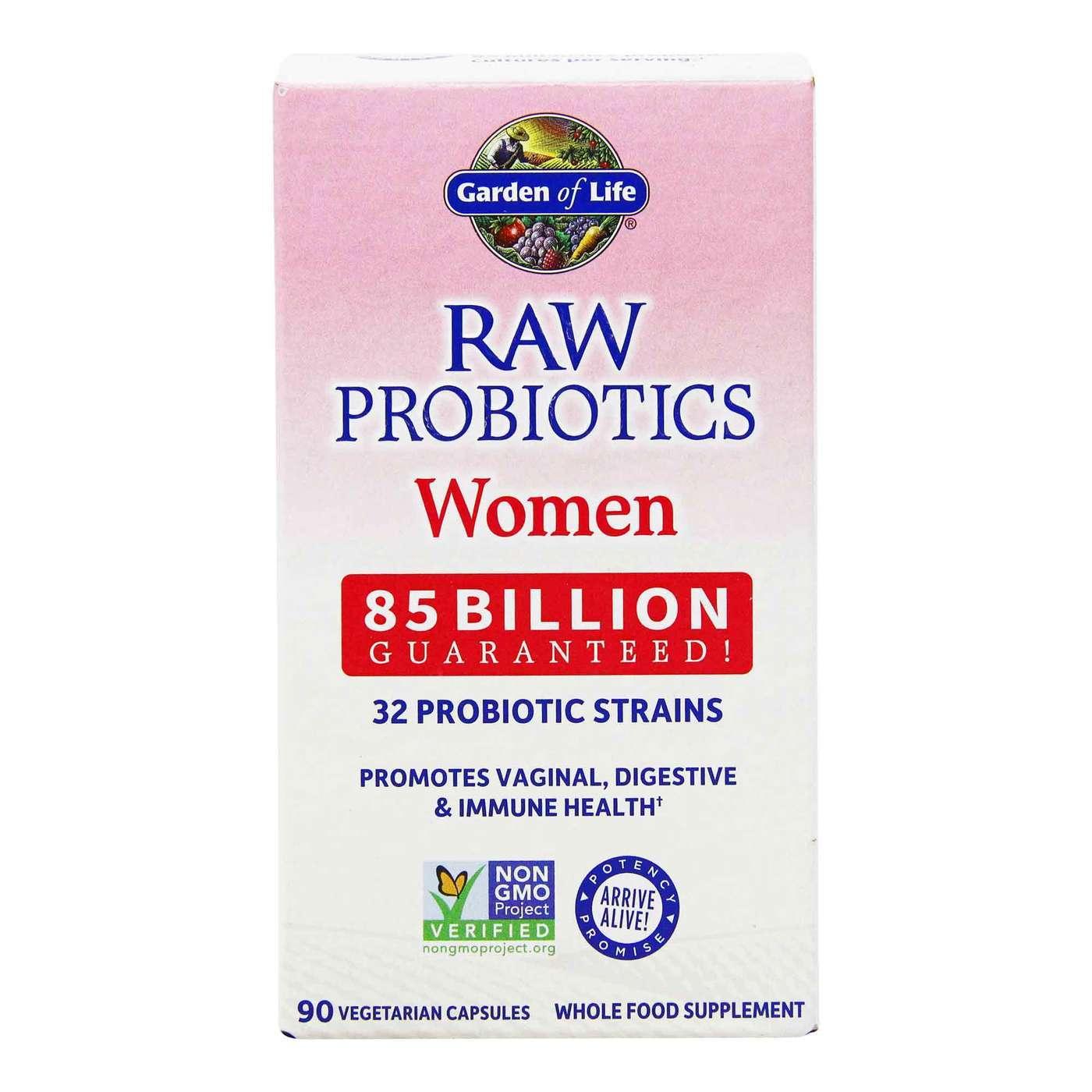 Garden Of Life Raw Probiotics Women 90 Vcapsules Evitamins Com