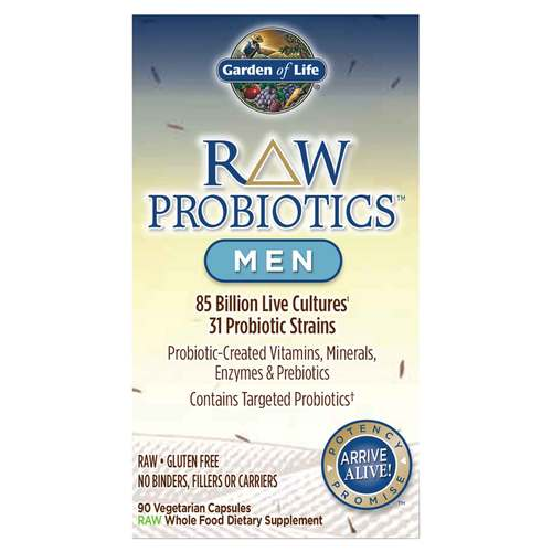 Garden of Life RAW Probiotics Men - 90 VCapsules - 23488_front.jpg
