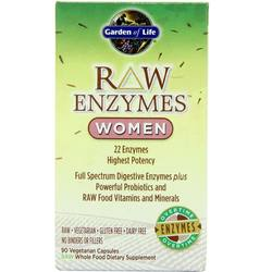 Garden of Life RAW Enzymes Women