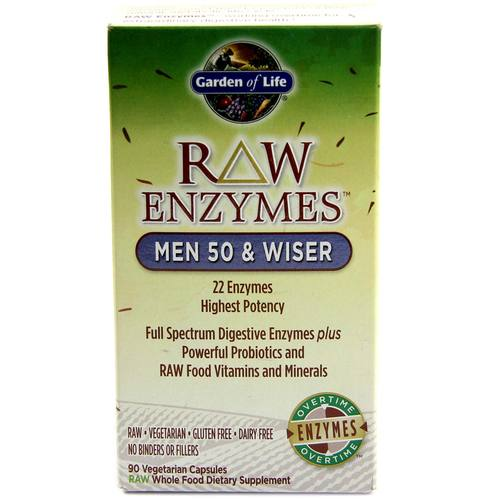 RAW Enzymes Men 50 and Wiser