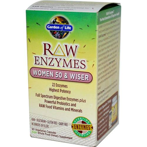 RAW Enzymes Women 50 and Wiser