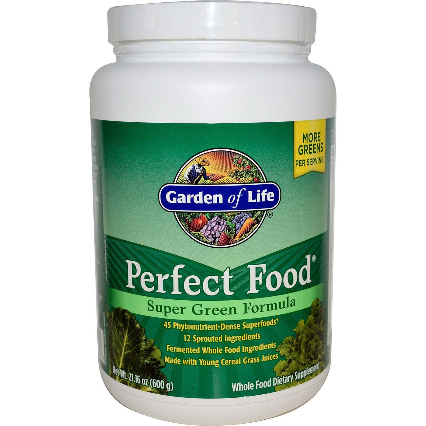 Garden Of Life Perfect Food Green Label 600 G