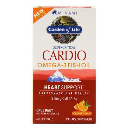 Garden of Life Minami Cardio Omega-3 Fish Oil naranja - 915 mg - 60 Softgels - 23778_front2020.jpg