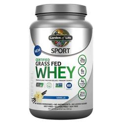 Garden of Life SPORT Certified Grass Fed Whey Protein