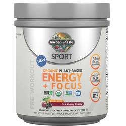 Garden of Life SPORT Organic Pre-Workout Energy Plus Focus