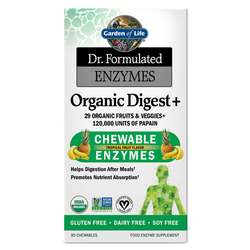 Garden of Life Dr. Formulated Enzymes Organic Digest+