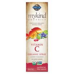 Garden of Life Mykind Organics Vitamin C Organic Spray Cherry-Tangerine