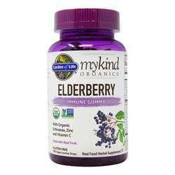 Garden of Life mykind Organics Elderberry Immune Formula