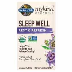 Garden of Life mykind Organics Sleep Well Rest  Refresh Formula