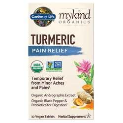 Garden of Life mykind Organics Turmeric Pain Relief Formula