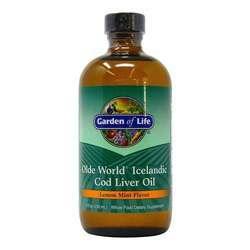 Garden of Life Olde World Icelandic Cod Liver Oil