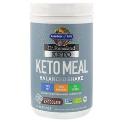 Garden of Life Dr. Formulated Keto Meal Balanced Shake