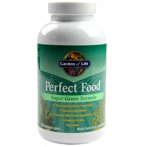 Garden of Life, Perfect Food® Fórmula Super Verdes - 300 Cápsulas - 4171_01.jpg