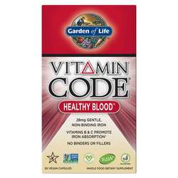 Garden of Life Vitamin Code Healthy Blood