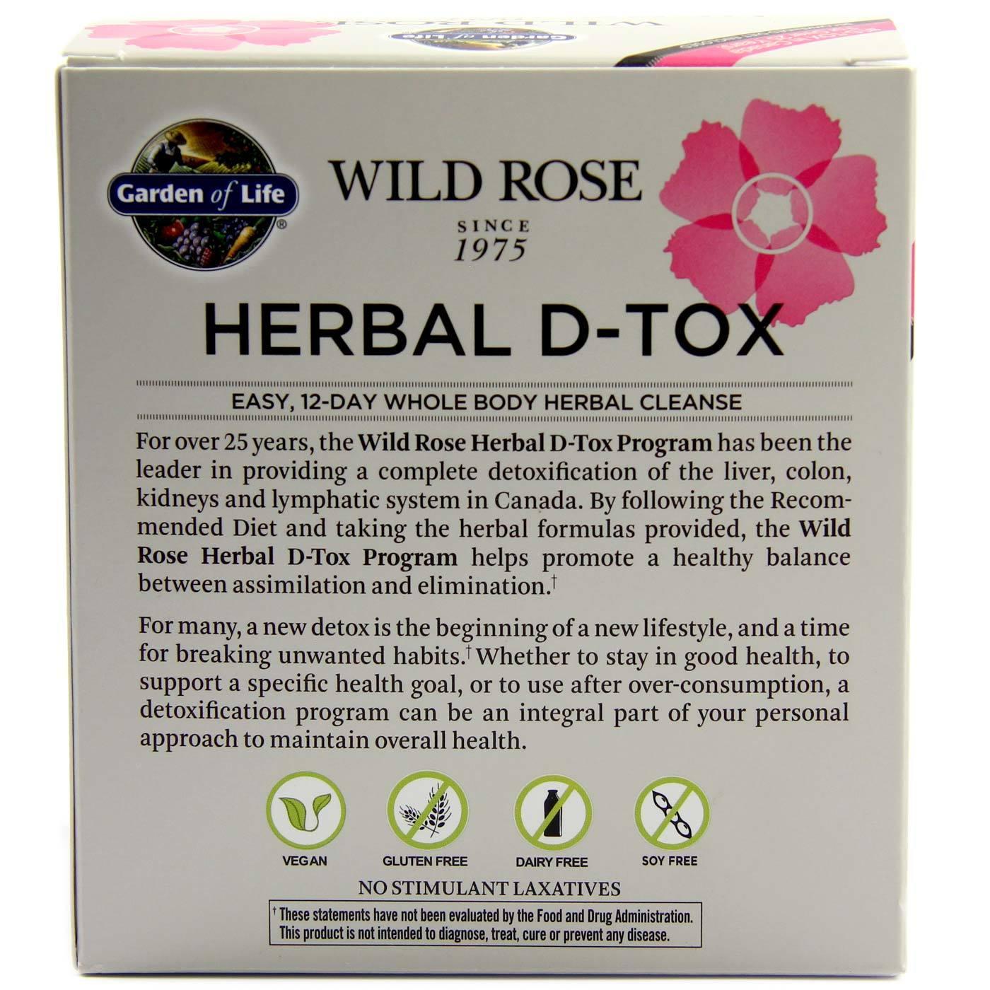 garden of life wild rose herbal d tox garden ftempo