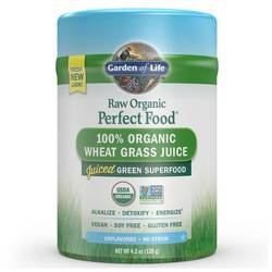 Garden of Life Perfect Food RAW Wheat Grass Juice