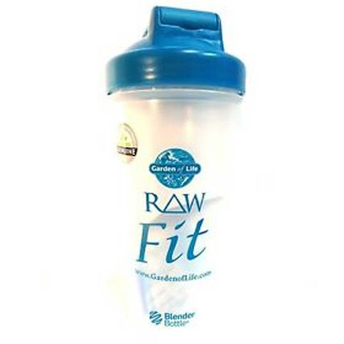 Garden of Life Raw Fit Shaker Turquoise 1 Bottle eVitaminscom