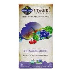 Garden of Life mykind Organics Prenatal Multivitamin
