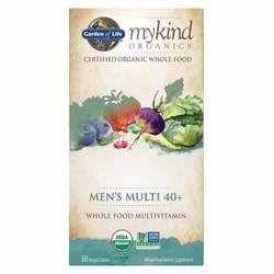 Garden of Life mykind Organics Men's 40+ Multivitamin