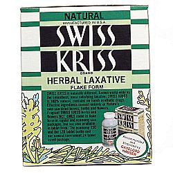 Gayelord Hauser Swiss Kriss Herbal Laxative
