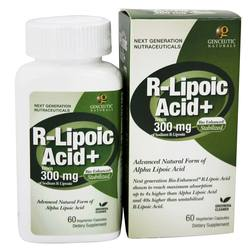Genceutic Naturals Natural R-Lipoic Acid