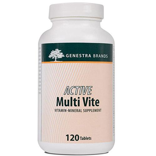 Genestra Active Multi Vite 120 Tablets Evitamins Com