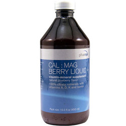 Genestra Cal: Mag Berry Liquid Plus
