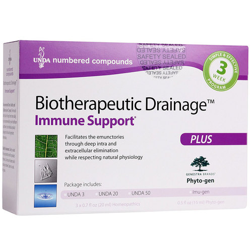 Genestra Biotherapeutic Drainage Immune Support  - 4 Part Kit