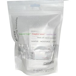 Giovanni Hair Care Products Refresh Sanitizing Towelettes