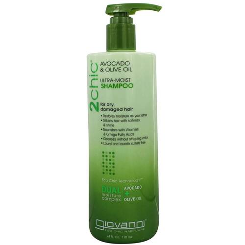Giovanni Hair Care Products 2chic Ultra-Moist Shampoo Aguacate y aceite de oliva - 24 oz - 59629_1.jpg