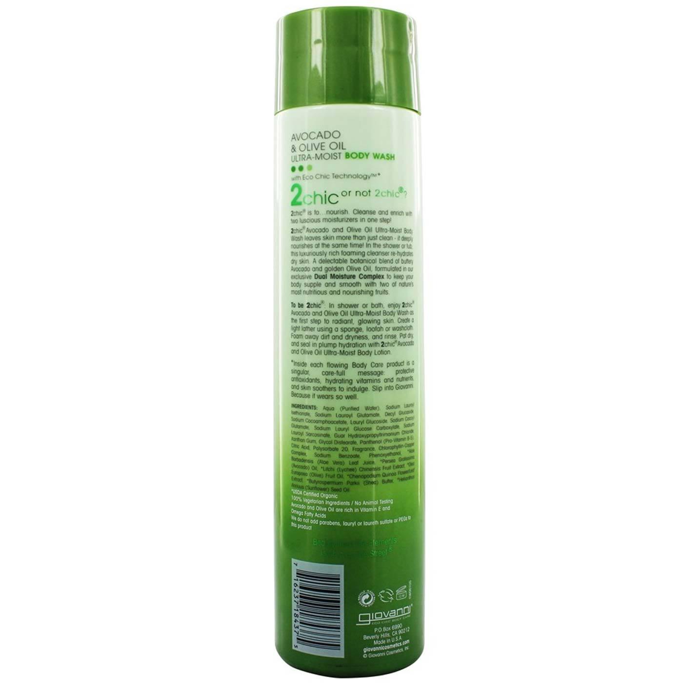 c6fcddd6d8fd Giovanni Hair Care Products 2chic Body Wash Avocado & Olive Oil - 10.5 oz
