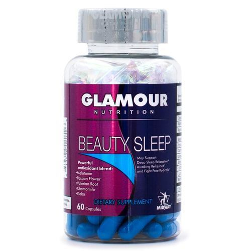Glamour Nutrition Beauty Sleep  - 60 Capsules - 352795_front.jpg