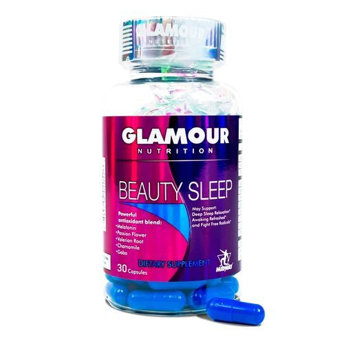 Glamour Nutrition Beauty Sleep  - 30 Capsules - 352823_front2019.jpg