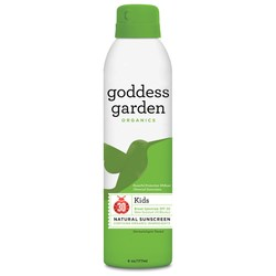 Goddess Garden Kid's Continuous Spray Natural Sunscreen