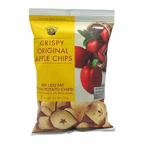 Good Health Apple Chips Crispy Original Crispy Original - 12- 2.5 oz (70g) - 20739_front2020.jpg