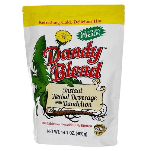 Goosefoot Acres Dandy Blend Instant Herbal Beverage with Dandelion - 14.1 oz (400 g) - 23582_front.jpg