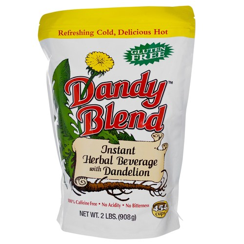 Goosefoot Acres Dandy Blend Instant Herbal Beverage вместе с Dandelion, Кофе - 2 Lbs. (908 g) - 23584_01.jpg