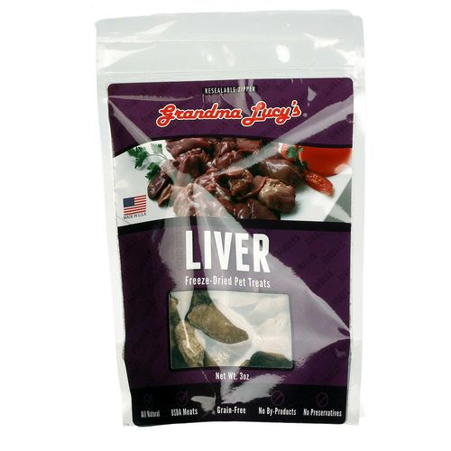 Grandma Lucy's Freeze-Dried Chicken Liver - 3 oz - 884308580026_1.jpg
