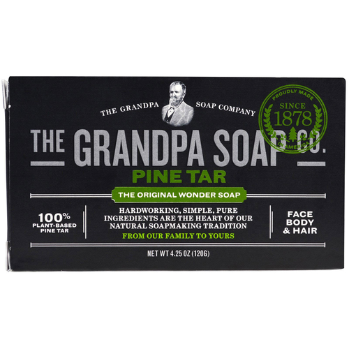 Grandpa's Face Body  Hair Bar Soap  - Pine Tar - 4.25 oz - 18663_a.jpg