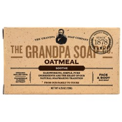 Grandpa's Oatmeal Face & Body Bar Soap
