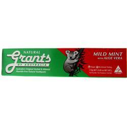 Grants of Australia Natural Toothpaste