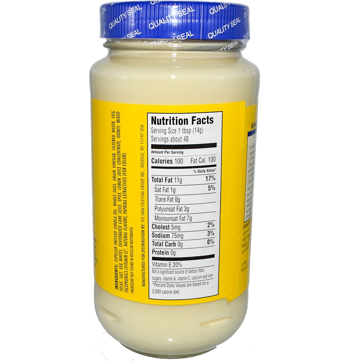 Best Foods Mayonnaise Calories