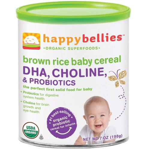 Happy Bellies Brown Rice Cereal (6 Pack)