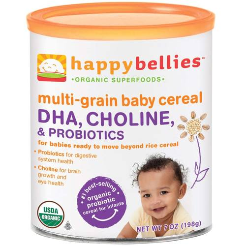 Happy Baby Happy Bellies Multigrain Cereal (6 Pack) - 6 - 7 oz Cans